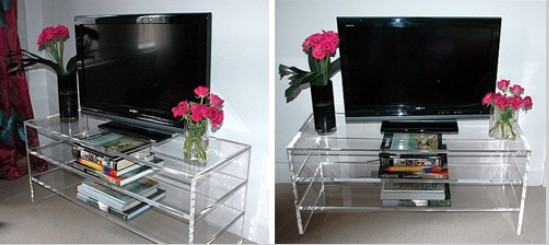 Amazing Wellliked Acrylic TV Stands Pertaining To Modern Wall Tv Unit Images Of Page  (Image 4 of 50)