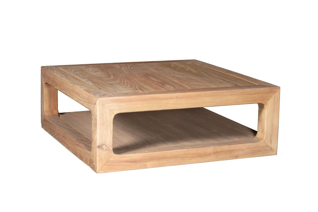 Amazing Wellliked Coffee Tables With Shelves Intended For Furniture Real Oak Wood Coffee Tables Design Ideas With Square (Image 6 of 50)