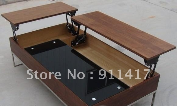 Amazing Wellliked Flip Up Coffee Tables Pertaining To Coffee Table That Raises Up (Image 1 of 50)