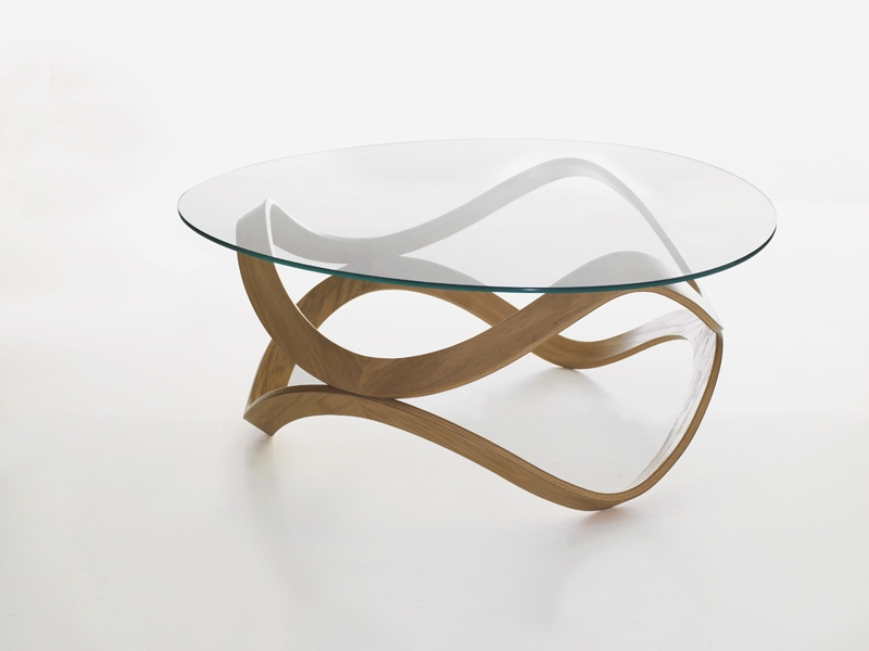 Amazing Wellliked Glass Circle Coffee Tables Inside Round Glass Coffee Tables (Image 6 of 50)