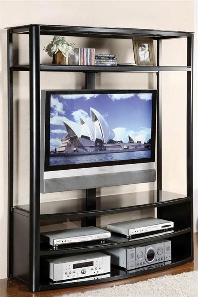 Amazing Wellliked Glass TV Cabinets With Regard To Best 25 Black Glass Tv Stand Ideas On Pinterest Penthouse Tv (Image 6 of 50)