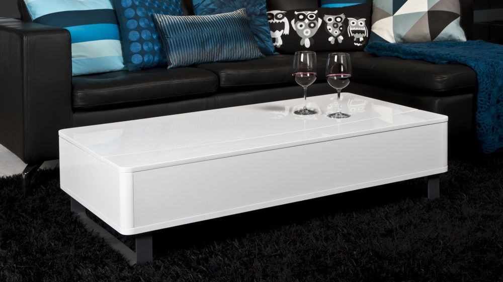 Amazing Wellliked Large Rectangular Coffee Tables With Modern White Gloss Rectangle Coffee Table Uk (Image 4 of 40)