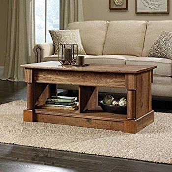 Amazing Wellliked Lift Top Oak Coffee Tables Intended For Amazon Lift Top Coffee Table Oak With Storage Drawers And (Image 2 of 40)