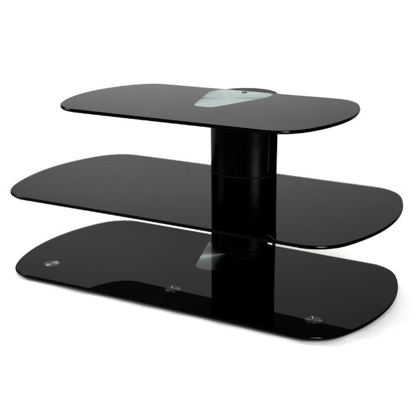Amazing Wellliked Oval Glass TV Stands In Off The Wall Skyline 39 Tv Stand Wayfair (View 36 of 50)