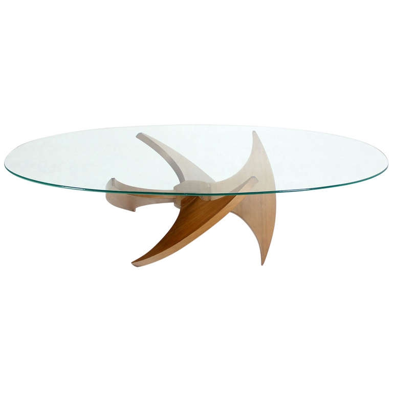 Amazing Wellliked Oval Shaped Coffee Tables Throughout Coffee Table Clear Oval Shape Glass And Steel Coffee Table Clear (View 18 of 50)