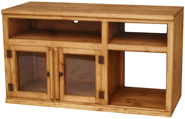 Amazing Wellliked Pine TV Stands Inside Rustic Furniture Colima Mexican Rustic Pine Tv Stand (Image 4 of 50)