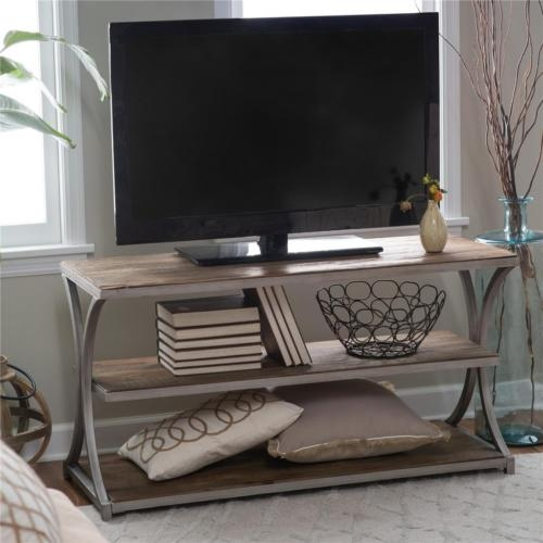 Amazing Wellliked Reclaimed Wood And Metal TV Stands Inside Antique Pewter Metal Reclaimed Wood Rustic Coastal Sofa Console (Image 5 of 50)