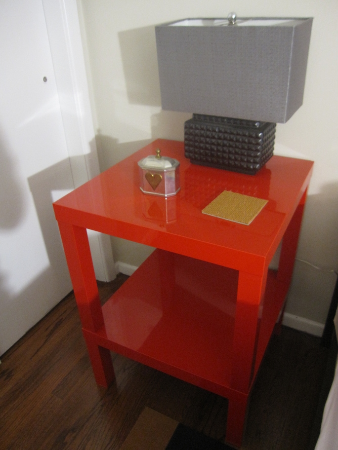 Amazing Wellliked Red Gloss Coffee Tables Inside Ikea Lack Coffee Table High Gloss White Thesecretconsul (Image 2 of 40)