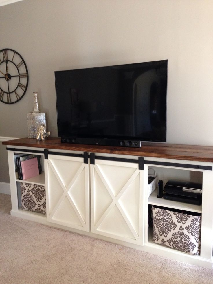 Amazing Wellliked Rustic White TV Stands Regarding 25 Best Rustic Tv Console Ideas On Pinterest Tv Console (Image 7 of 50)