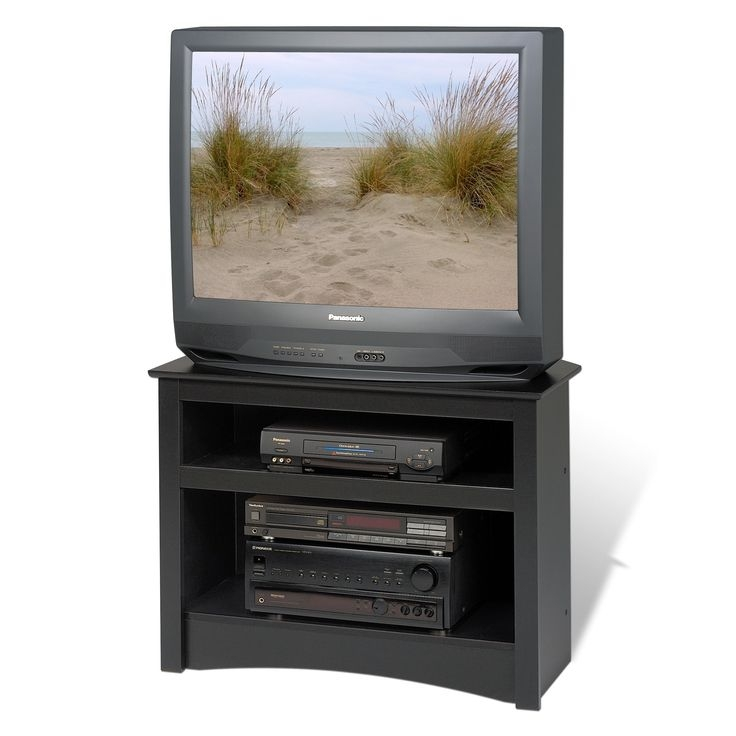 Amazing Wellliked Small Black TV Cabinets In Best 25 Black Corner Tv Stand Ideas On Pinterest Small Corner (Image 5 of 50)
