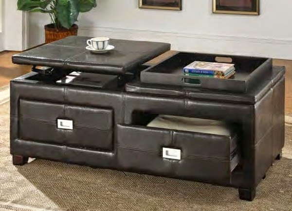 Amazing Wellliked Small Coffee Tables With Drawer With Plain Black Coffee Table With Storage Drawers Decoration Ideas For (Image 7 of 50)