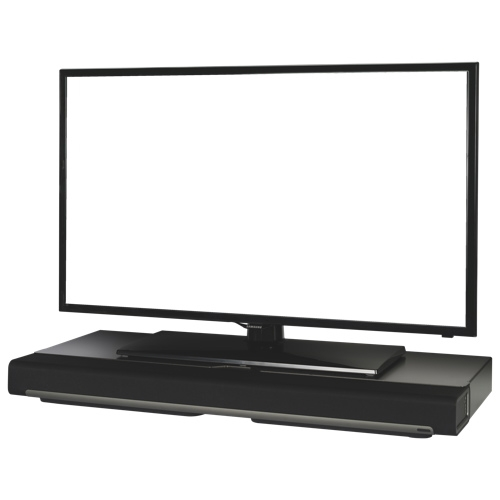 Amazing Wellliked Sonos TV Stands Within Flexson Tv Stand For Sonos Playbar Flxpbst1021 Black Speaker (View 5 of 50)