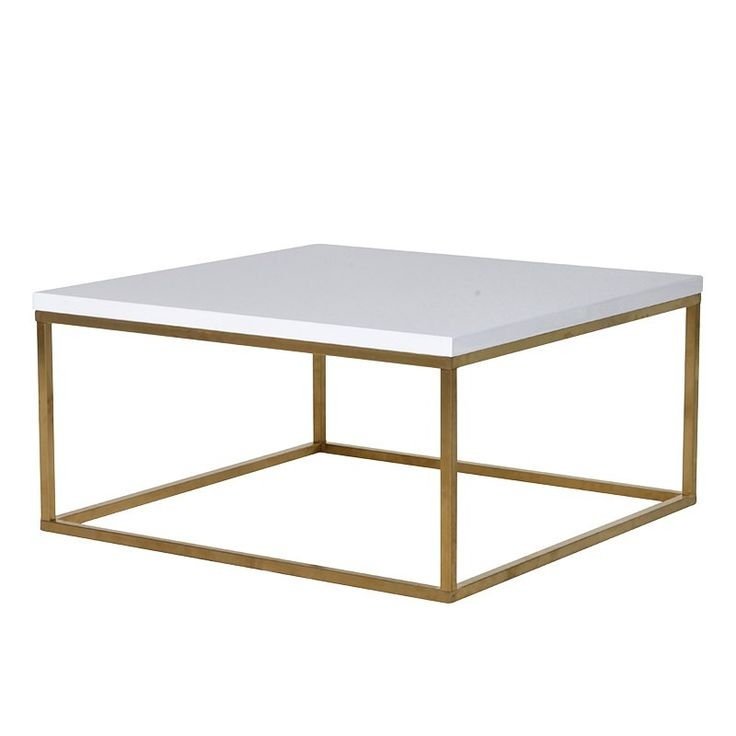 Amazing Wellliked Square White Coffee Tables With Regard To Best 25 White Gloss Coffee Table Ideas On Pinterest Table Tops (View 32 of 50)