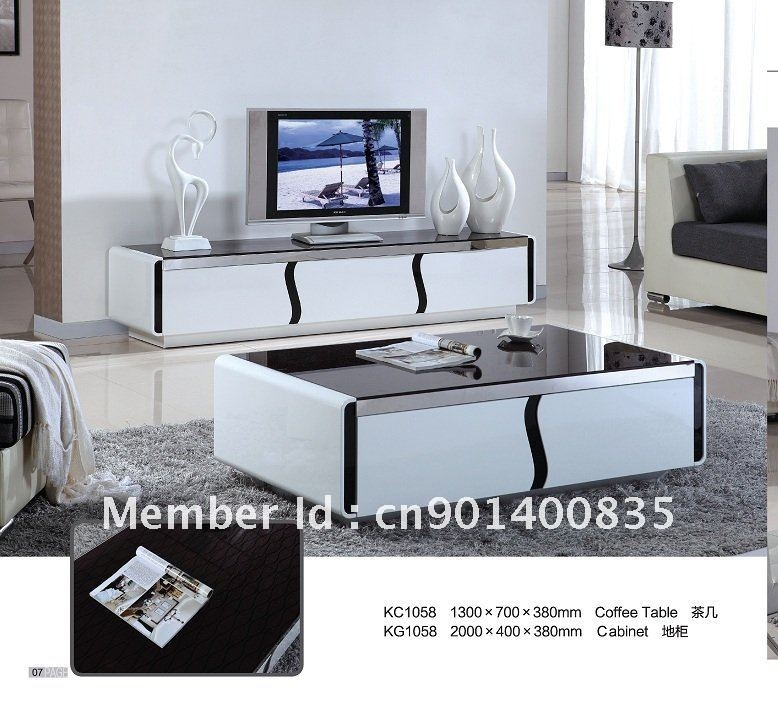 Amazing Wellliked TV Stand Coffee Table Sets Intended For Coffee Table And Tv Stand Set Popular Coffee Table Sets For Mid (Image 5 of 50)