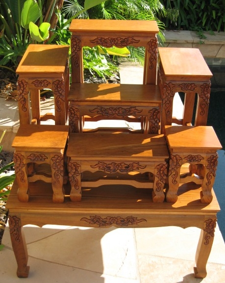 Amazing Widely Used Buddha Coffee Tables With Hand Carved Coffee Tables Opium Legs Tables End Tables Buddhist (View 45 of 50)