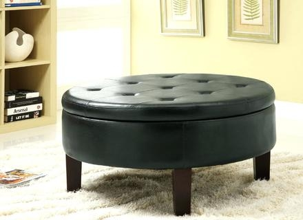 Amazing Widely Used Coffee Table Rounded Corners With Regard To Corner Storage Bench With Basket Coffee Table Round Ottomans End (Image 8 of 50)