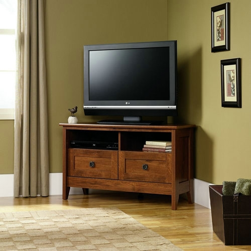 Amazing Widely Used Corner TV Stands For 50 Inch TV Inside 50 Inch Tv Stand Lifeases (Image 9 of 50)