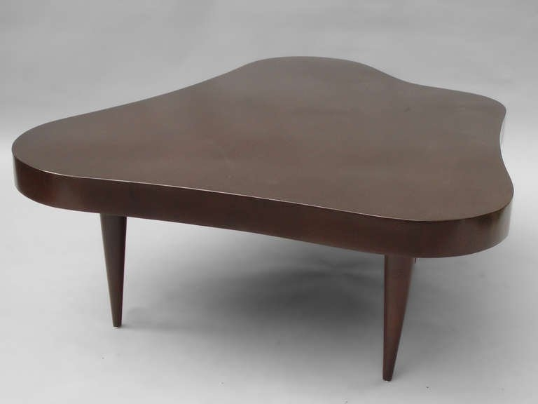 Amazing Widely Used Free Form Coffee Tables For Biomorphic Free Form Coffee Table In The Style Of Gilbert Rohde At (Image 6 of 40)