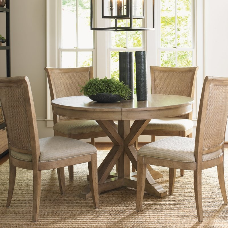 Amazing Widely Used Monterey Coffee Tables Inside Lexington Monterey Sands 5 Piece Dining Set Reviews Wayfair (Image 4 of 50)