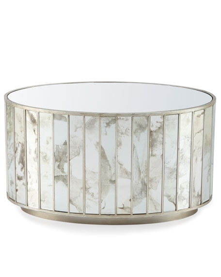 Amazing Widely Used Oval Mirrored Coffee Tables With Roma Oval Mirrored Coffee Table (Image 4 of 50)