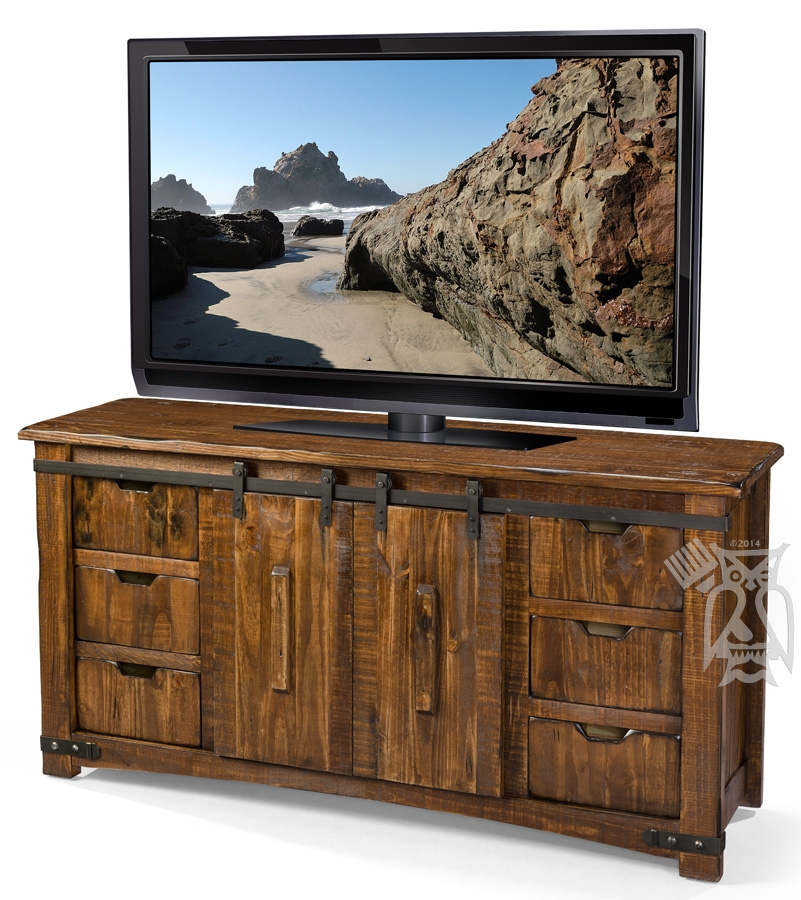 Amazing Widely Used Pine Wood TV Stands Throughout Hoot Judkins Furnituresan Franciscosan Josebay Areaartisan (Image 6 of 50)