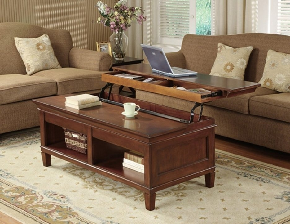 Amazing Widely Used Raise Up Coffee Tables Regarding Coffee Table Coffee Table That Raises Up Within Astonishing (Image 4 of 40)