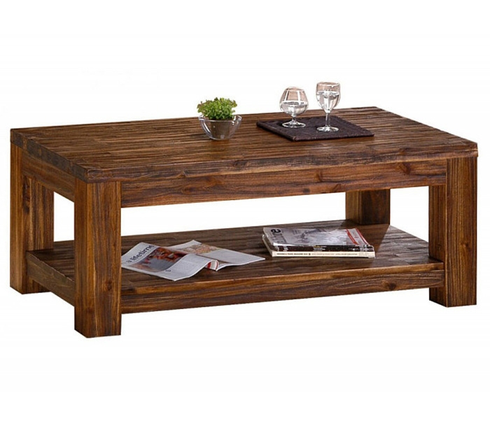 Amazing Widely Used Small Wood Coffee Tables With Wood Coffee Tables (Image 4 of 50)