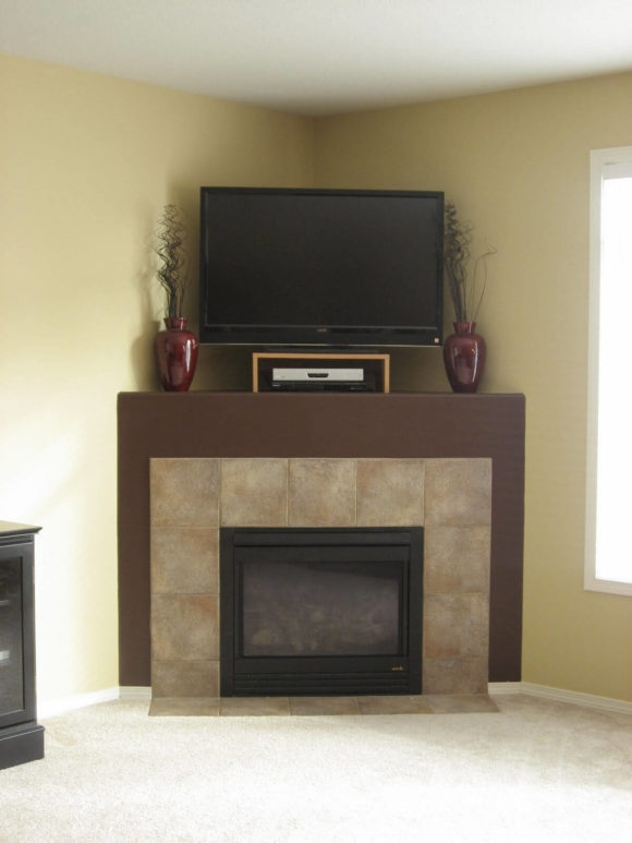 Amazing Widely Used Unique Corner TV Stands Inside Furniture The Most Valuable Corner Tv Stand With Fireplace For (Image 4 of 50)