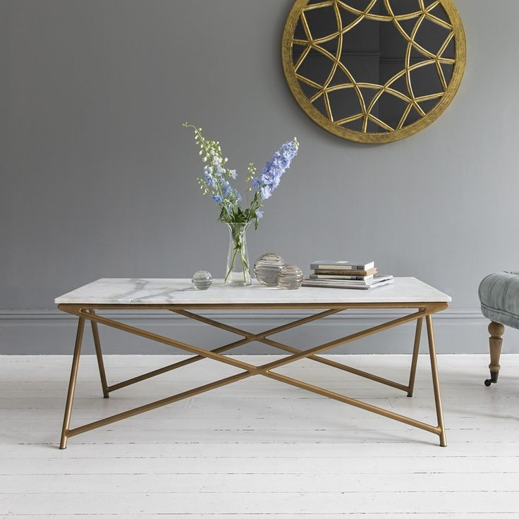 Amazing Widely Used White Marble Coffee Tables With Regard To Best 25 Marble Coffee Tables Ideas On Pinterest Marble Top (Image 4 of 50)