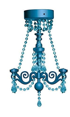 Amazon Inkology Magnetic Locker Chandelier Led Light Auto For Turquoise Locker Chandeliers (Image 7 of 25)