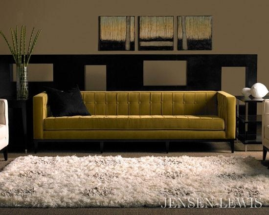 American Leather Luxe Sofa | Jensen Lewis New York Furniture In Luxe Sofas (Image 4 of 20)