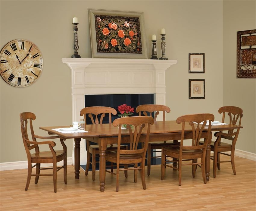 Amish Provence Dining Table With Regard To Provence Dining Tables (Image 3 of 20)