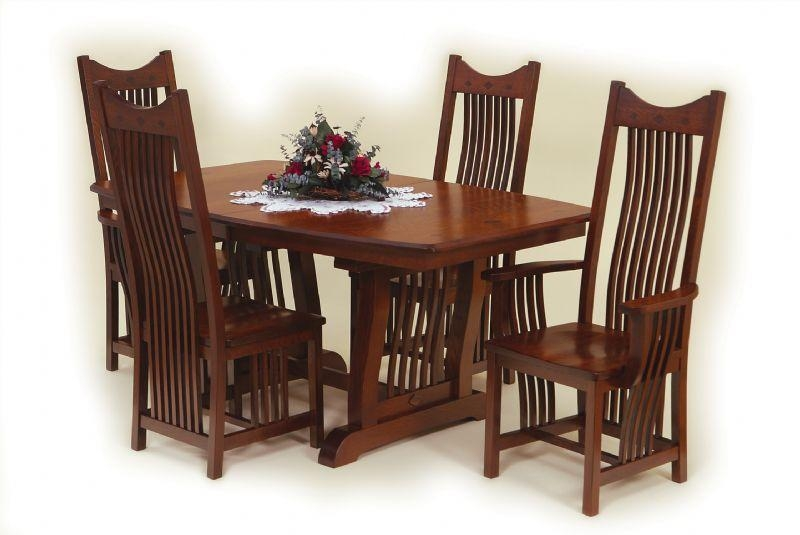 Amish Royal Mission Dining Room Set Pertaining To Royal Dining Tables (Image 4 of 20)