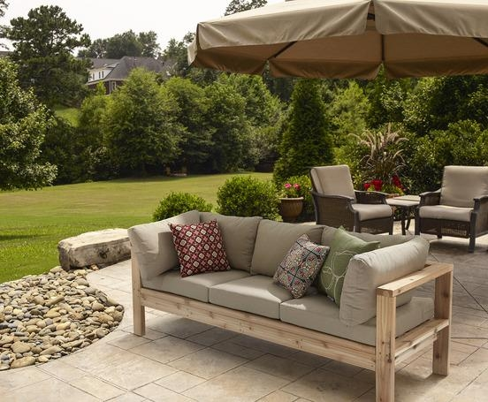 Ana White | One Arm Outdoor Sectional Piece – Diy Projects Pertaining To Ana White Outdoor Sectional Sofas (Image 7 of 20)