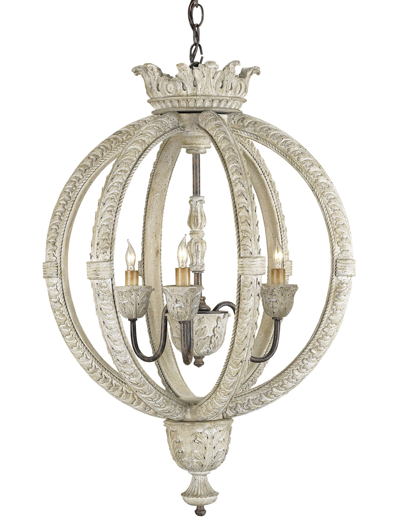 And Company 9134 Dauphin Small Orb Chandelier For Orb Chandeliers (Image 1 of 25)