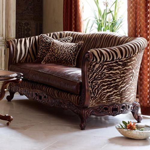 Animal Print Sofas Epic Animal Print Sofa 80 With Additional Within Animal Print Sofas (Image 6 of 20)