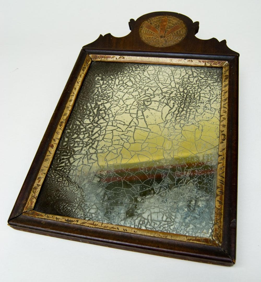 Antique American Pennsylvaina Queen Anne 18Th Century 1700S Paint Inside Antique Mirrors For Sale (View 11 of 16)