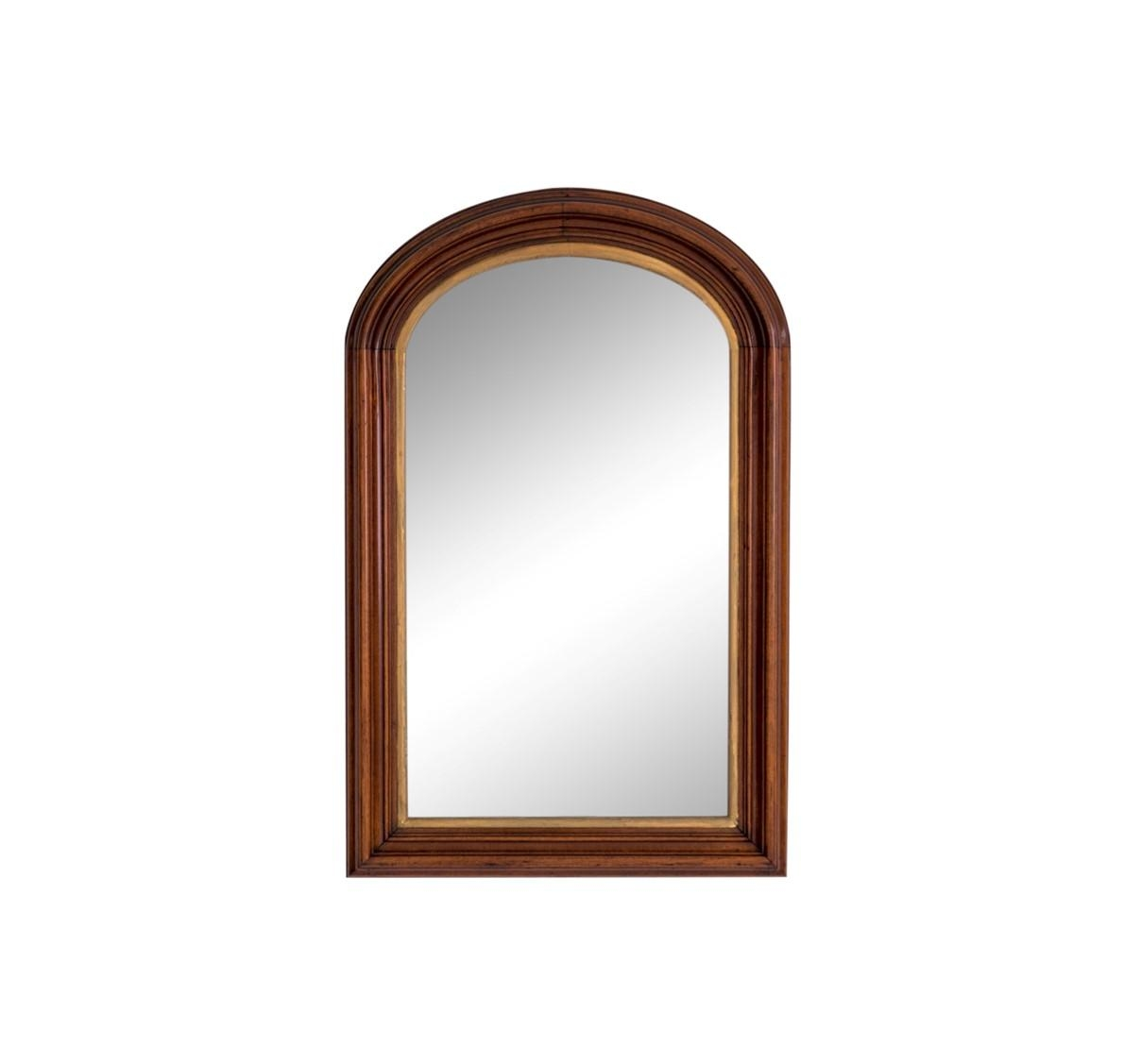 Antique Arched Mirror W Gilding – Janney's Collection Regarding Antique Arched Mirror (Image 6 of 20)