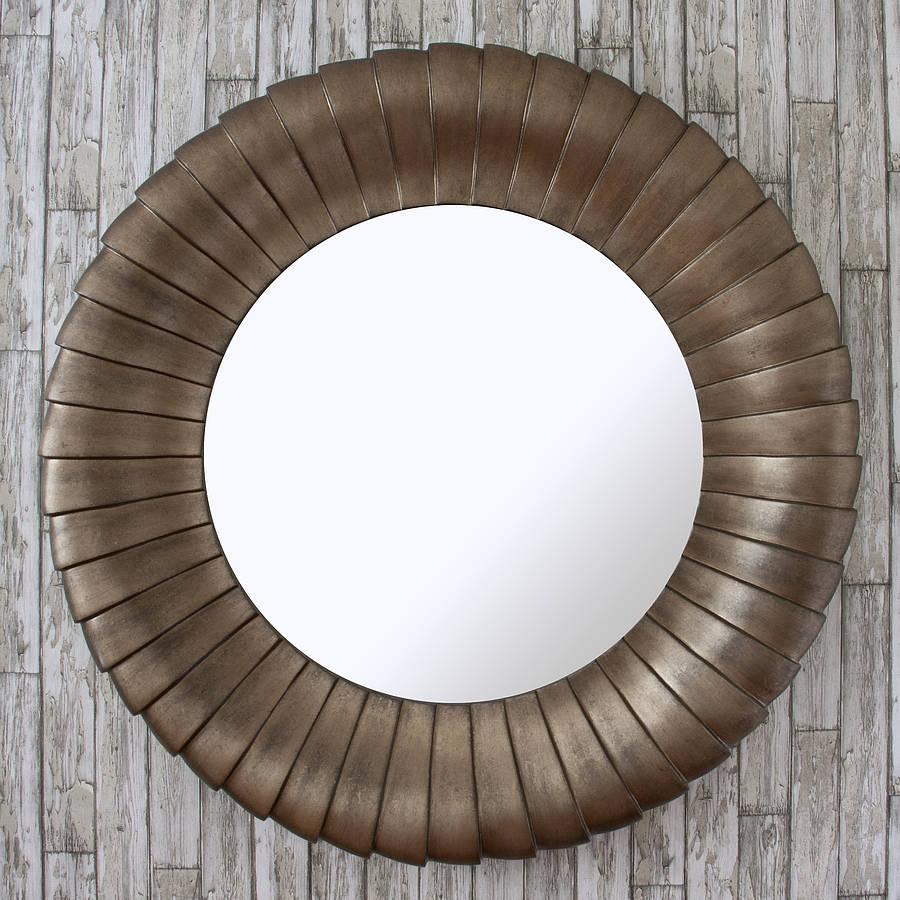 Antique Bronze Round Mirrordecorative Mirrors Online Inside Round Mirror For Sale (View 18 of 20)