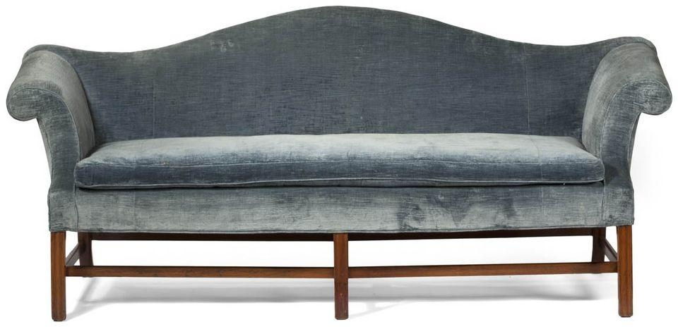 Antique Couch, Sofa And Settee Styles With Chippendale Camelback Sofas (Image 8 of 20)