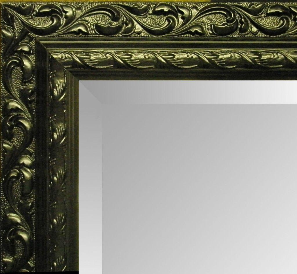 Antique Cream Ornate Shabby Chic Wall Mirror – Choose Your Size Throughout Antique Cream Mirror (Image 7 of 20)