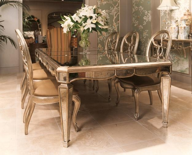 Featured Image of Antique Mirror Dining Tables