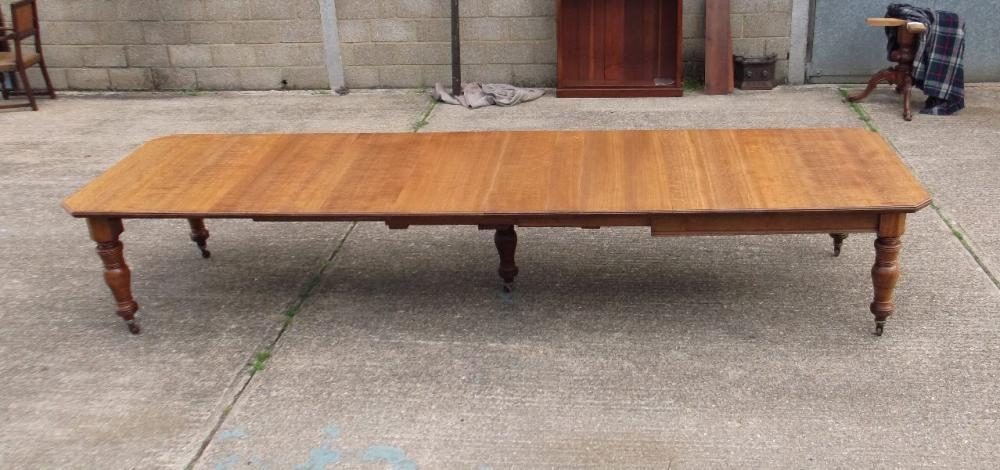 Antique Dining Tables Uk | Largest Stock Original Genuine English Inside Huge Round Dining Tables (View 19 of 20)