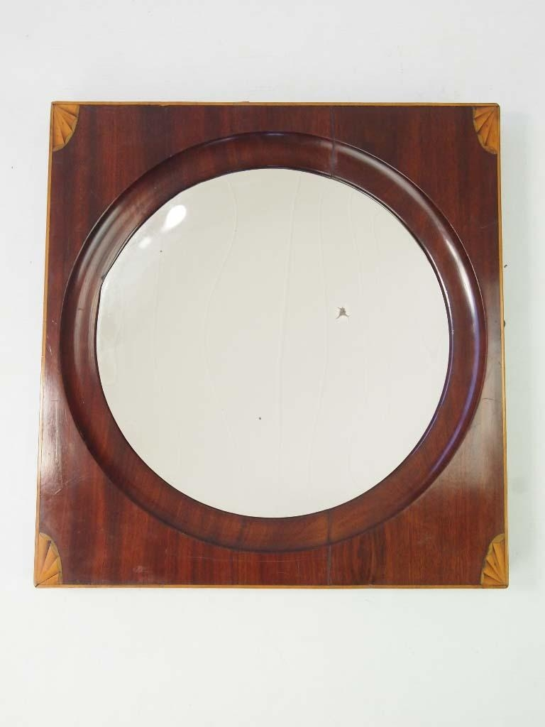 Antique Georgian Concave Mirror – Hall Mirror – Intended For Concave Wall Mirror (View 9 of 20)
