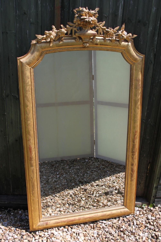 Antique Gilt Mirror | 280421 | Sellingantiques.co (Image 8 of 20)