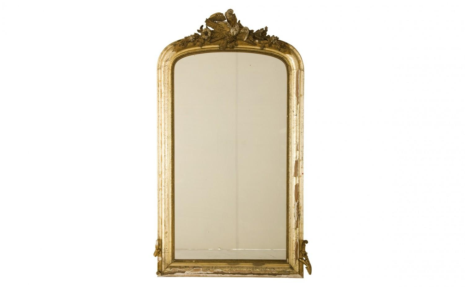 Antique Gilt Mirror | Jayson Home With Antique Gilt Mirror (Image 9 of 20)
