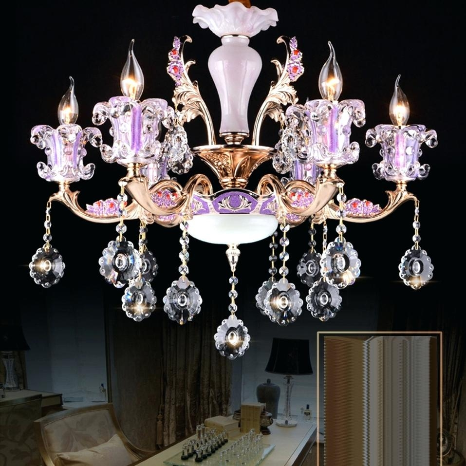 Antique Mini Chandelier Pink Crystal Chandeliers Chandelier Ba Pertaining To Turquoise And Pink Chandeliers (View 17 of 25)
