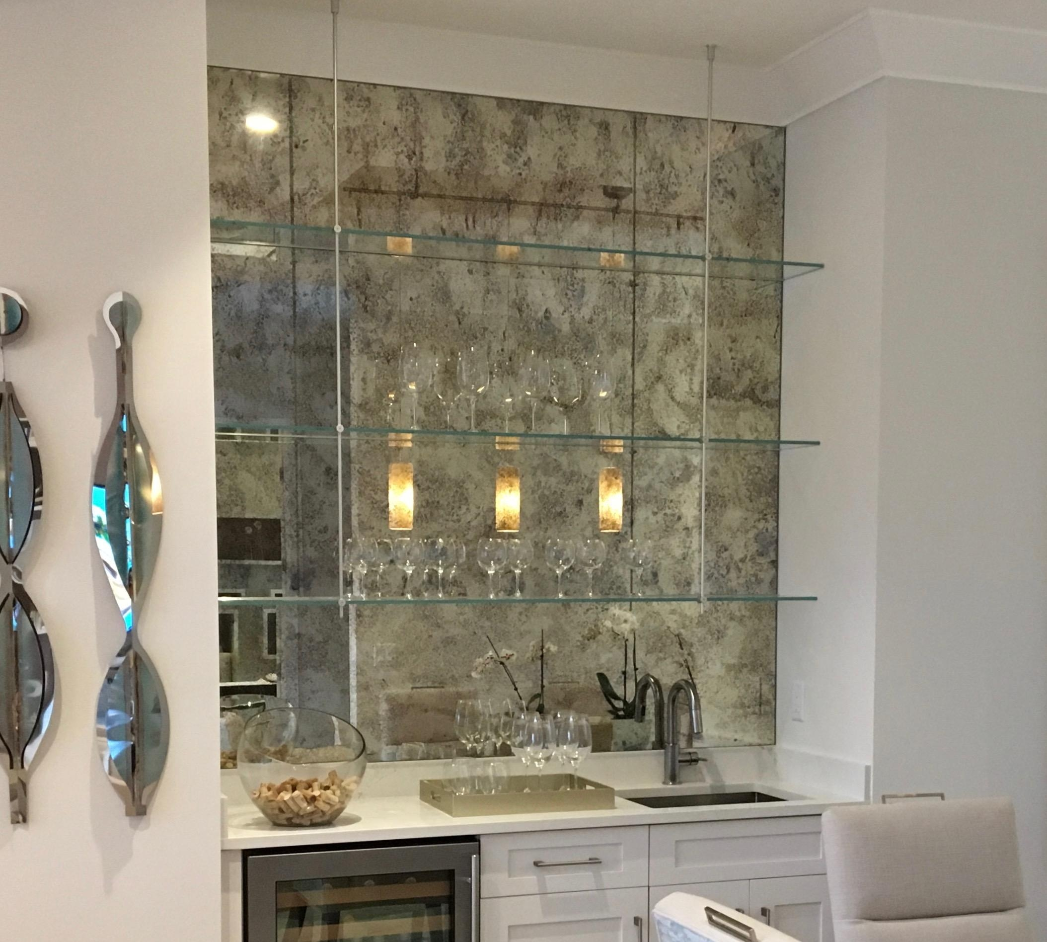 Antique Mirror Subway Tiles – Builders Glass Of Bonita, Inc (View 13 of 20)