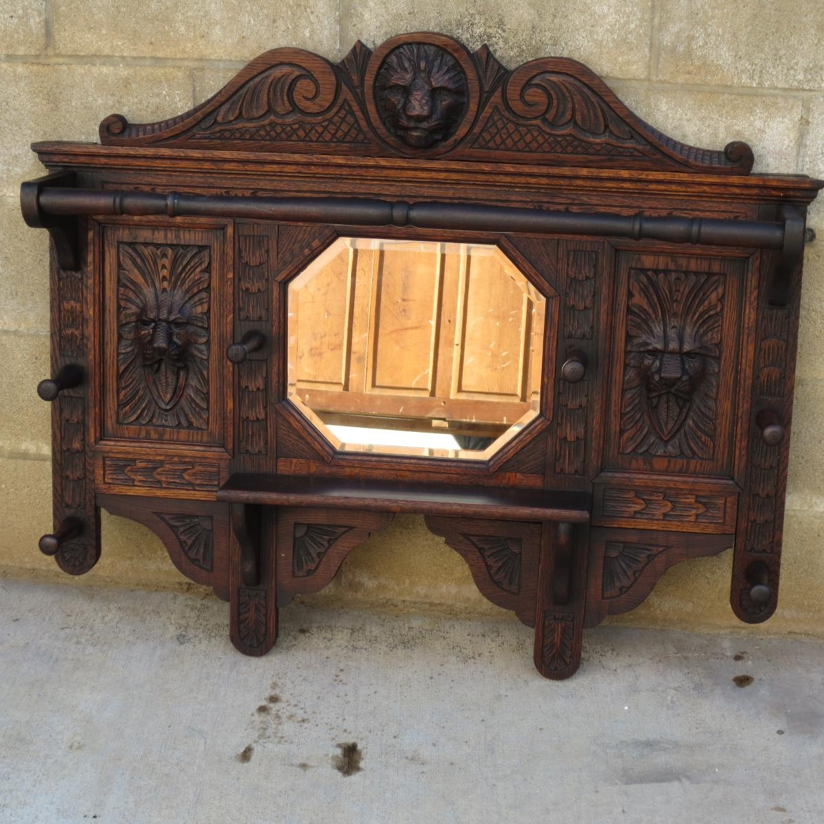 Antique Mirrors, Vintage Mirrors, Antique Wall Mirrors, And French Regarding Antique Wall Mirror (Image 3 of 20)