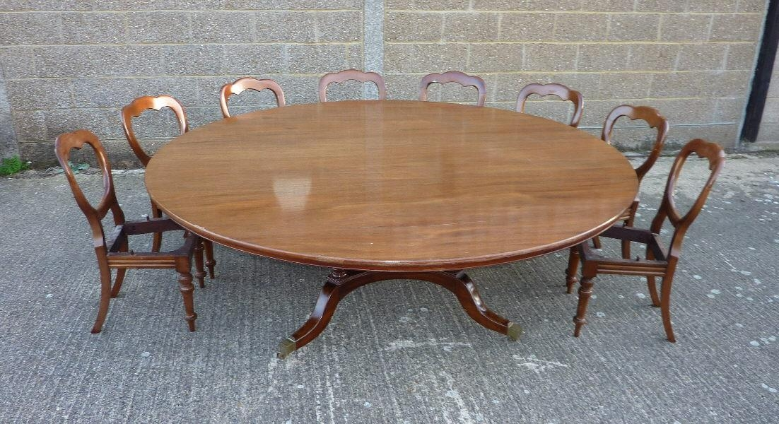 Antique Round Dining Table. Antique Round Dining Tables (View 7 of 20)